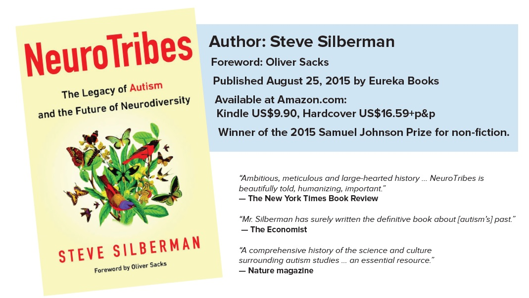A Q About Autism With Steve Silberman >> Neurotribes The Legacy Of Autism And The Future Of Neurodiversity